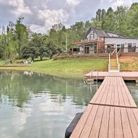 Hiawassee Home with Boat Slip and Dock on Chatuge Lake, hotel in Hiawassee