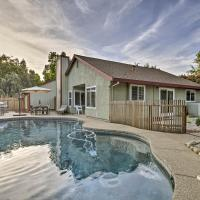 Modern Home with Pool & Office - Near DT Sacramento!