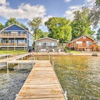 Lake George Cottage on the Lane with Dock and Kayaks!, отель в городе Fremont