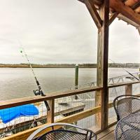 Waterfront Midway Home with Private Dock & Grill!