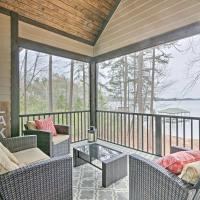 Seneca Home with Porch and Private Dock on Lake Keowee!, hotel in Seneca