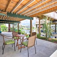 Canalfront Bayou Vista Home with Pool Access & Deck!