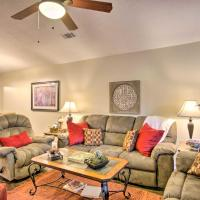 Cozy Greenwood Condo with Patio - 2 Mi to Downtown, hotel in Greenwood