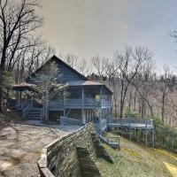 Blue Ridge Mtn Cabin with Huge Decks, Hot Tub and Views