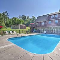 Family Cabin with Seasonal Pool on Cherokee Lake!, hotel in Bean Station