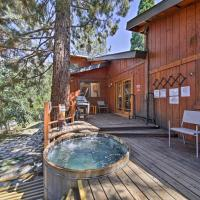 Wrightwood House with Fire Pit - Hike & Ski Nearby!