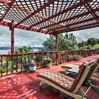 Spacious Kelseyville Home with Large Lakefront Deck!, hotel in Kelseyville