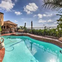 Spacious San Diego Home with Pool, Spa & Ocean Views!