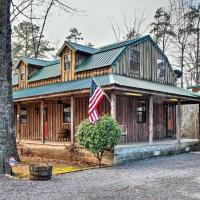 Greers Ferry Lake Home with 2 Decks, BBQ and Fire Pit!