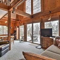 Lake-View Kimball Cabin with 10 Acres and Private Beach, hotel in Kimball