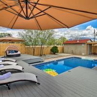 Luxury Albuquerque Home with Pool, Deck, & Hot Tub!, hotel in Albuquerque