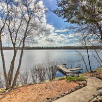 Brainerd Lakes Cabin on 2-Acres with Dock and Fire Pit, hotel in Pequot Lakes