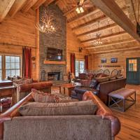 Cabin with Climbing Wall & Game Room, 5 Mi to Mt Snow