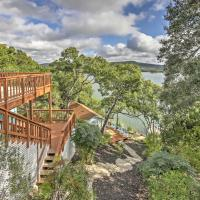 Waterfront Lakehills Home with Pvt Dock and Lake Views, hotel in Lakehills
