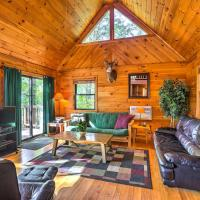 Hocking Hills Lake Cabin with Hot Tub, Deck & Dock!