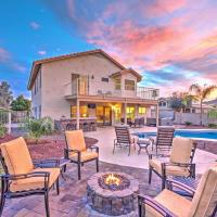 Stunning Goodyear Home with Private Hot Tub and Pool!