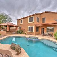 Phoenix Getaway with Private Pool, Spa, and Game Room!, hotel in Maricopa