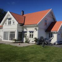 Fredrikstad luxury wooden villa in Norwegian archipelago