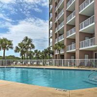 West Gulf Shores Condo with Ocean Views, Shared Pool!