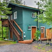 Seward Studio with Deck, Outdoor Dining and Mtn Views!