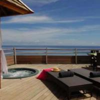 Magnifique Villa standing Moorea avec vue mer jacuzzi