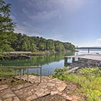 Greers Ferry Lakefront Home with Deck and Boat Slips!