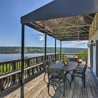 Lovely Finger Lakes Home with Lake Views and Deck!