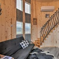 Unique Tin Cabin with Mtn Views in Antimony!