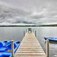 Loon Lake Lodge with Dock, Sauna and Hot Tub!, hotel in Pequot Lakes