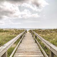 Oceanfront Carolina Beach Condo with Pool & Views!