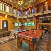 Spacious Conroe Home with Foosball & Pool Table!