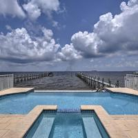 Lavish Waterfront Home with Pool & Shared Dock!