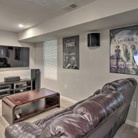 Apartment with Media Room - 15 mins to Atlanta!