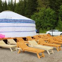 Озеро Голубое, отель в городе Александровск