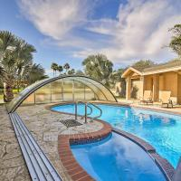 Waterfront Harlingen Home with Pool,Spa & Gazebo