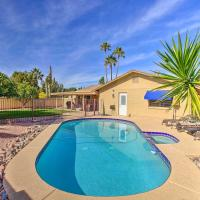 Colorful Home with Grill Less Than 4 Mi to Talking Stick Golf