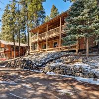 Spacious Cabin with Deck in Lincoln National Forest!