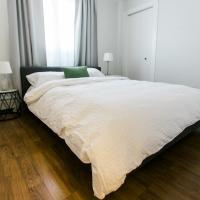 Cozy 2-bedroom condo near downtown, with laundry, parking, balcony