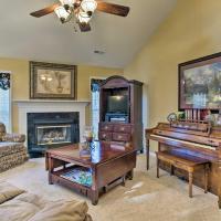Asheville Area Home with Patio-11 Mi to Biltmore, hotel in Fletcher
