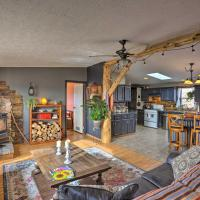Cozy Black Hills Home with 13 Acres, Deck and View