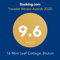 16 Mint Leaf Cottage, Bruton, hotel in Bruton