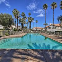 Desert Falls Resort Villa w/ Deck+Pool Views!