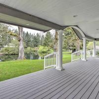 Contemporary Tacoma Cottage with Deck & Pond!