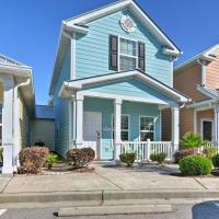 Myrtle Beach Cottage with Pool, Walk to Ocean!