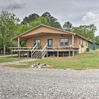 Guntersville Cabin with Views - Walk to Lake!