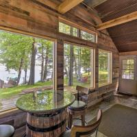 White Lake Home with Patio, Fire Pit, Boat Dock!