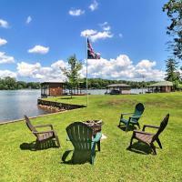 'Irish Rover' Lake Home with Yard Bar & Dock!