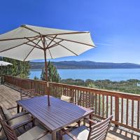 Scenic Susanville Cabin with Deck on Eagle Lake, hotel in Susanville