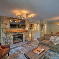 Ski-In and Ski-Out West Dover Condo with Deck!