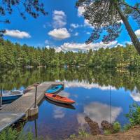 Lake Arrowhead Waterfront Cabin w/ Deck+Grill